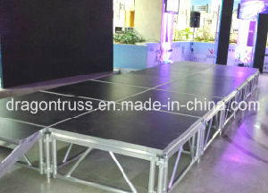 Outdoor Event Aluminum Ajustable Portable Stage Design pictures & photos