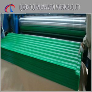 Aluzinc Color Coated Corrugated Roofing Sheet pictures & photos