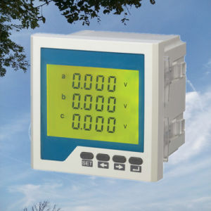 Three Phase LCD Display Meter for Voltage (72X72, 80X80, 96X96, 120X120) pictures & photos