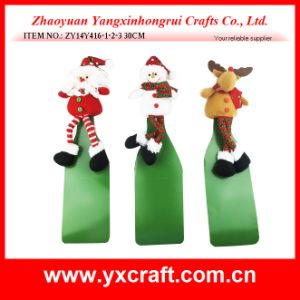 Christmas Decoration (ZY16Y173-1-2-3 26X15CM) Christmas Wine Suit Wine Decoration pictures & photos