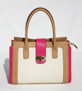 Lady′s Handbag with Fashion Design (E23272)