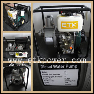 """3"""" Air Cooled Diesel Water Pump with 7HP Engine pictures & photos"""