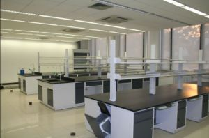 All Steel Work Table Lab Furniture Chemical Lab Work Station pictures & photos