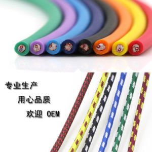 3m Colorful Zinc Alloy Nylong Sheath 3pin XLR Cable pictures & photos