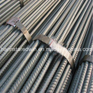 Hot Rolled Construction Steel Deformed Rebars Reinforced Bars pictures & photos