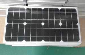35W Monocrystalline Solar Panels for Solar LED Lighting Systems (JGN-35W-MONO) pictures & photos