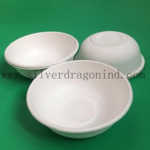 Biodegradable Compostable Sugarcane Bagasse Sauce Bowl 680ml pictures & photos