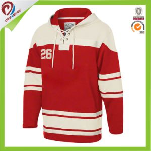 Polyester Dry Fit Custom Sublimated Hockey Hoodies Wholesales Design pictures & photos