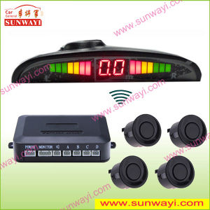 Wireless Auto Parking Sensor System, LED Display Parking Sensor
