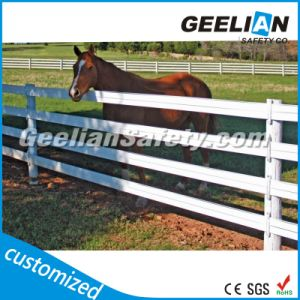 Australia Eco Friendly Vinyl/PVC/Recycled Plastic Horse Fence pictures & photos