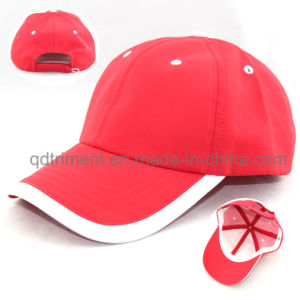 Soft Comfortable Polyester Microfiber Fabric Sport Baseball Cap (TMR4517) pictures & photos
