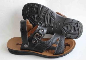 Classic Style Men Beach Shoes Leather Upper (SNB-14-019) pictures & photos