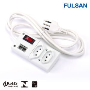 Power Strip with Rj11/Phone Surge Protection and Switch pictures & photos
