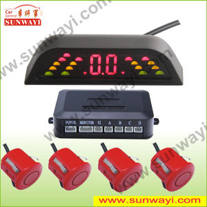 Wireless LED Display Parking Sensor with 4 or 6 or 8 Sensors