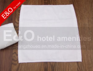 100% Cotton Hotel Small Square Face Towel 30*30cm pictures & photos