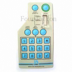 Control Feel Smooth Silicone Rubber FPC Circuit Panel Membrane Switch pictures & photos