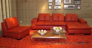 Living Room Genuine Leather Sofa (SB0-3968) pictures & photos