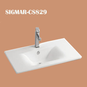 Unique White Porcelain Counter Top Basins