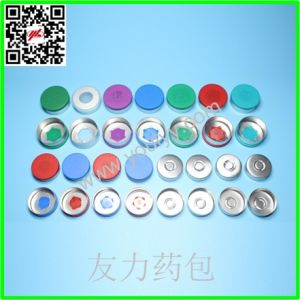Aluminum Plastic Cap for Bottles pictures & photos
