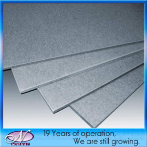 Insulation Acoustic Exterior Fiber Cement Board / Panels for Decorative Wall pictures & photos