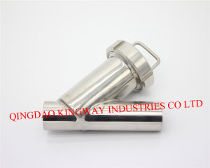 Stainless Steel Sanitary Y-Type Strainer.