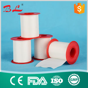 Medical Silk Tape, Zigzag Edge Surgical Silk Tape 10cm*5m pictures & photos