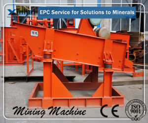 Hot Selling! Linear Vibrating Screen for Sale (DZS)