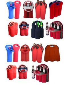 Hot Sellling Red Bottle Neoprene Wine/Water Bottle Tote pictures & photos