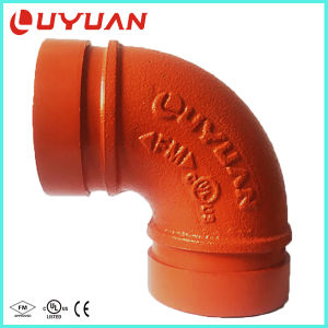 UL/ FM Approvals Grooved Elbow with 90 Degree 45 Degree 22.5 Degree for Fire Safety System pictures & photos