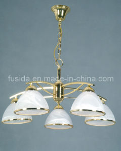 2012 Popular Classical Glass Chnadelier Pendant Light (D-8150/5) pictures & photos