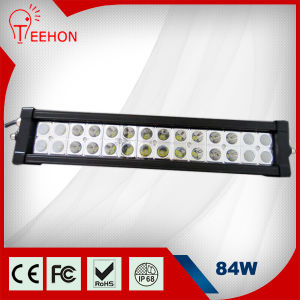Double Row Straight 84W LED Driving Light Bar pictures & photos