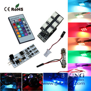 Remote Control RGB 16 Colours Car LED Dome Light pictures & photos