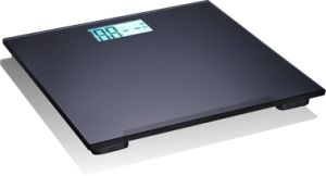 Black Digital Hotel Bathroom Body Scale with Tempered Glass pictures & photos