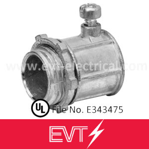 Zinc Set Screw Type EMT Connector UL Listed pictures & photos