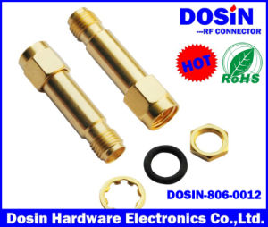 Gold Plated RF Connector SMA Jack to SMA Plug Connector Adapter pictures & photos