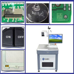UV Laser Marking Machine for PVC Valves Logo Engraving pictures & photos