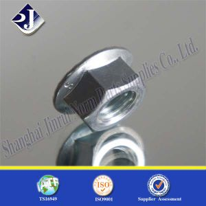 DIN6923 Fastener Lock Screw Hex Flange Nut pictures & photos