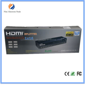 4k Support 3D 16-Port HDMI Splitter Box with Good Quality pictures & photos