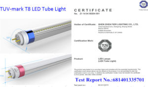 T8 LED Tube Light / 1.2m Fier LED Tube Lamp