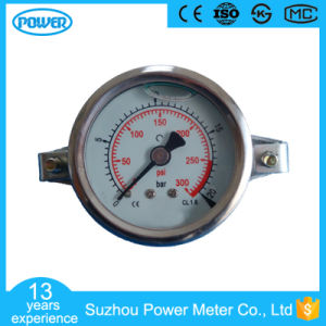 2.5′′ 63mm Stainless Steel Glycerin Filled Pressure Gauge with Clamp pictures & photos