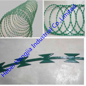 PVC Coated Hot Sell Razor Wire Cbt-65 From China