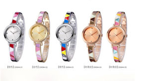 Custom Rose Gold Metal Mk Watch for Lady Women pictures & photos