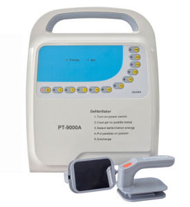 Medical Equipment Supply Portable Defibrillator PT-9000A pictures & photos