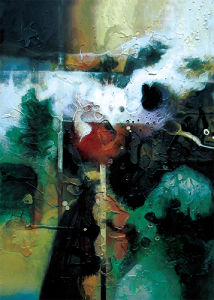 Morden Abstract Oil Painting