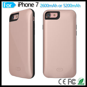 2600mAh External Battery Backup Charger Case Pack Power Bank for iPhone 7 pictures & photos
