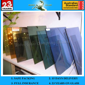 3-12mm Tinted Float Glass & Clear Float Glass Manufacturer Supplier pictures & photos