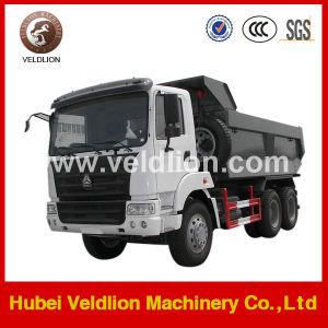 Veldlion 3axle 50ton Loading HOWO 6X4 Dump Trucks pictures & photos