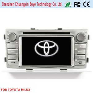 2 DIN Car Entertainment System for Toyota Hilux