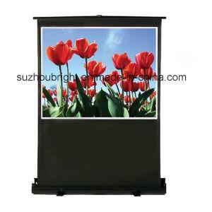 Portable Mini Floor Standing Projector Screen pictures & photos