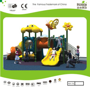 Kaiqi Small Animal Themed Children′s Playground Slide Set with Tunnel (KQ20031A) pictures & photos